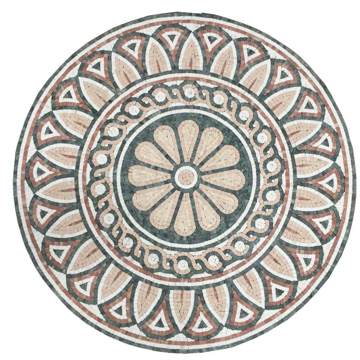 Buy Polished Marble Stone Medallion Floor Art 36 Quot X 36