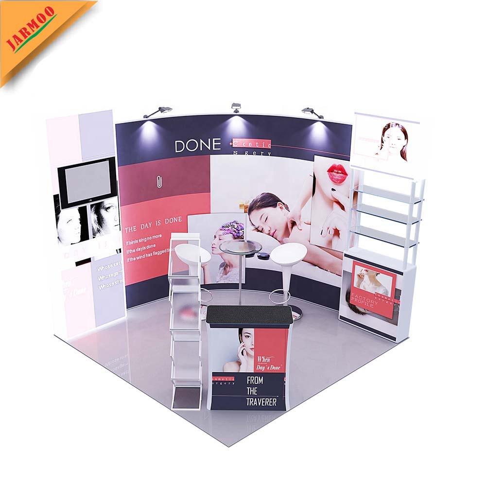 Flexible Exhibition Stands : Oem custom fast easy setup modular flexible quick exhibition