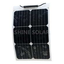 18 w sun power flexible solar panels etfe solar plate