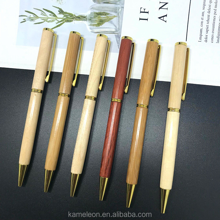 Wholesale Engraved Bamboo/Wood Ball Pen