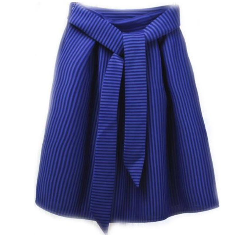 8b7b804dd Get Quotations · New Space Cotton Women Long Skirts Autumn Winter Female  Striped High Waist Ball Gown Midi Long