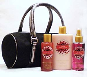Victoria's Secret Pure Seduction Body Lotion, Body Mist, Body Wash and Limited Edition Tote Bag - 4 Pcs Gift SET