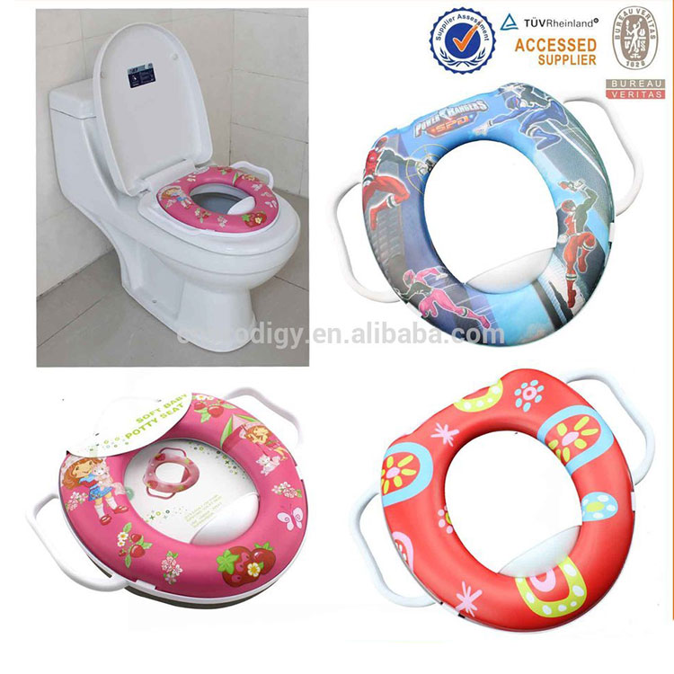 SOFT PADDED BABY POTTY/TOILET SEAT COVER TOILET TRAINING YR BABY & KID