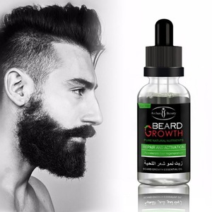 100% beard oil and beard balm for beard growth oil men