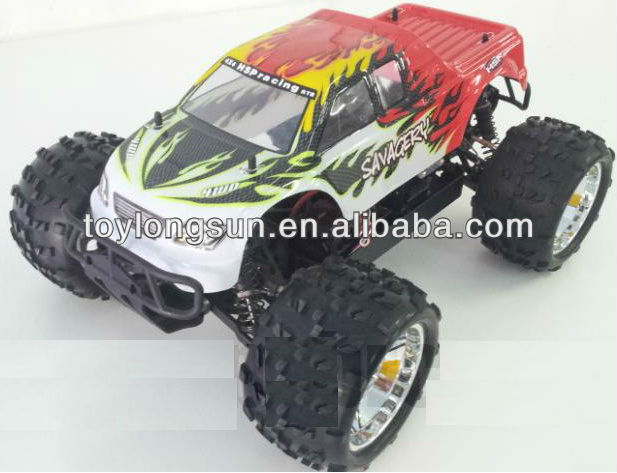 HSP 94062 BRUSHLESS OFFROAD 4WD RACING MONSTER TRUCK TOYS