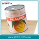 Canned Peach Halves In Light Syrup Factory Good Price