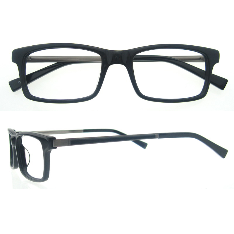 Designer Glasses Frames For Men Blue Acetate Optical Frames Matt ...