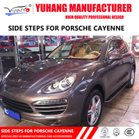 High Quality running board side steps pedals for Porsche Cayenne