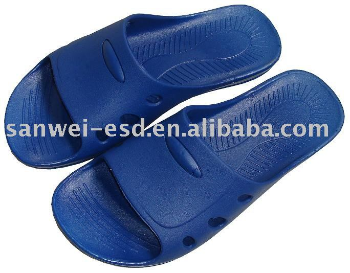 ESD/Anti static Safety protective SPU Slippers for workplace
