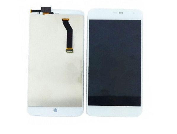 100% Original White For Meizu MX3 LCD Touch Screen Display Digitizer Assembly Free Shipping