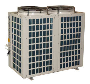 Low temperature condensing unit air source EVI split inverter air to water heat pump all in one heat pump water heater