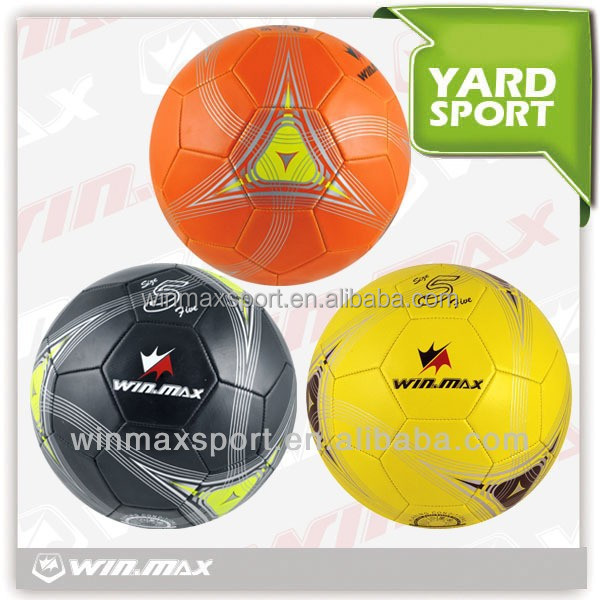 WINMAX brand Wholesale official size and weight soccer ball/football