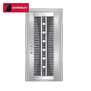 Best Supplier commercial frame stainless steel door