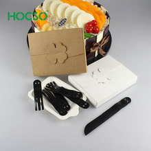 Cutlery Sets individual paper box Knives Forks Plates Disposable