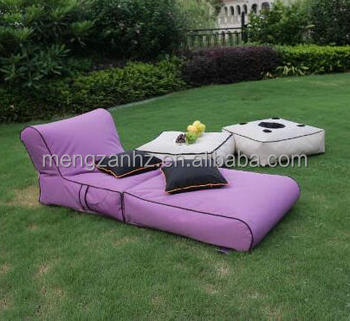 Waterproof Outdoor Furniture Sun Lounger Beanbag Garden Sofa   Buy Lazy  Lounger Bean Bag,Double Seat Beanbag Chair,Waterproof Outdoor Beanbag Chair  ...