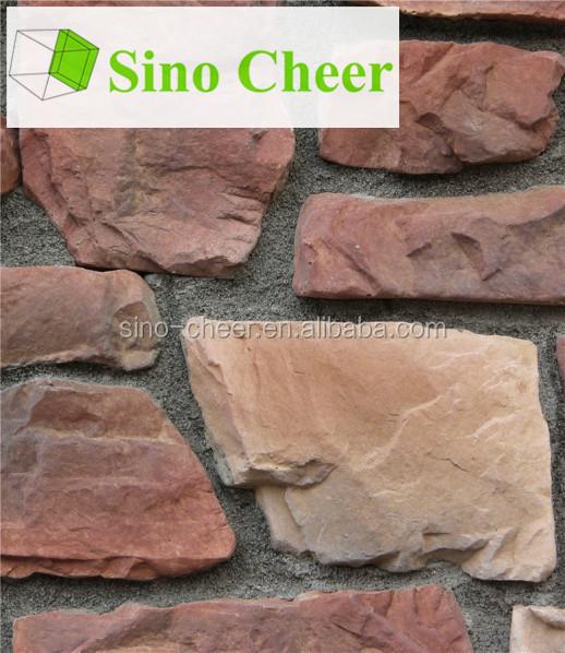Piedras de la cultura f sica para la pared exterior casa - Piedra decorativa para paredes ...