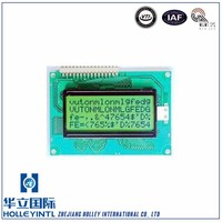 Suitable to energy meters Segment code LCD panel