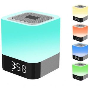 Light Flame Atmosphere Multi Color Portable Smart With Led Lamp Wireless Speaker