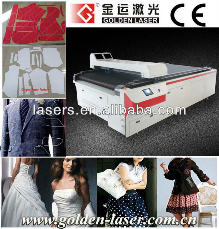 2013 Apparel Laser Cutting Equipment With AutoCAD