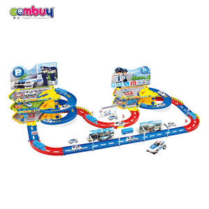 Hot Import Toys Viaduct Rail Car Toys For Kids