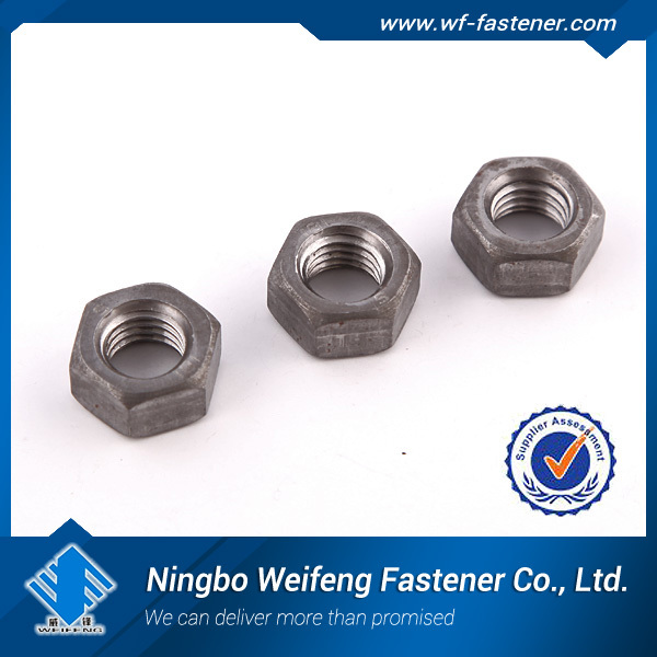 stainless steel DIN934 DIN555 ISO4032 hexgon nuts large size small size M58,hex nut m8 din934