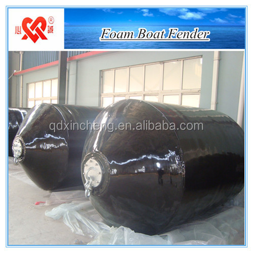 Gold export supplier high energy absorption floating marine foam boat fender