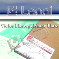 New Type HSV Huaguang Violet CTP Plate for Newspaper and Commercial Printing