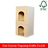 Yuguang Crafts Ready Made Wooden Pet Cat House
