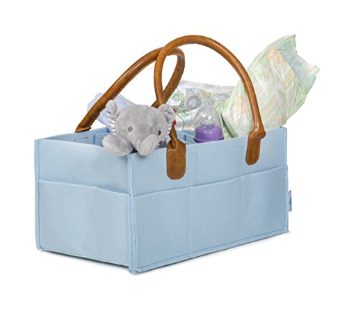 new Premium adult shop polyester felt women multipurpose organizer storage portable bin wipes travel baby diaper caddy home car