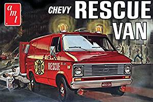 AMT851 AMT - Fire Department - 1975 Chevy Rescue