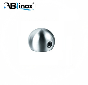 12 inches ABLinox stainless steel end caps for safty and beauty
