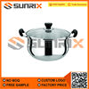 Attractive Stainless Steel Steaming Pots