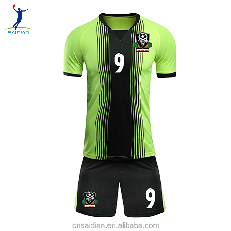 Custom dry fit latest soccer jersey design,2017 high quality sublimation cheap soccer jerseys