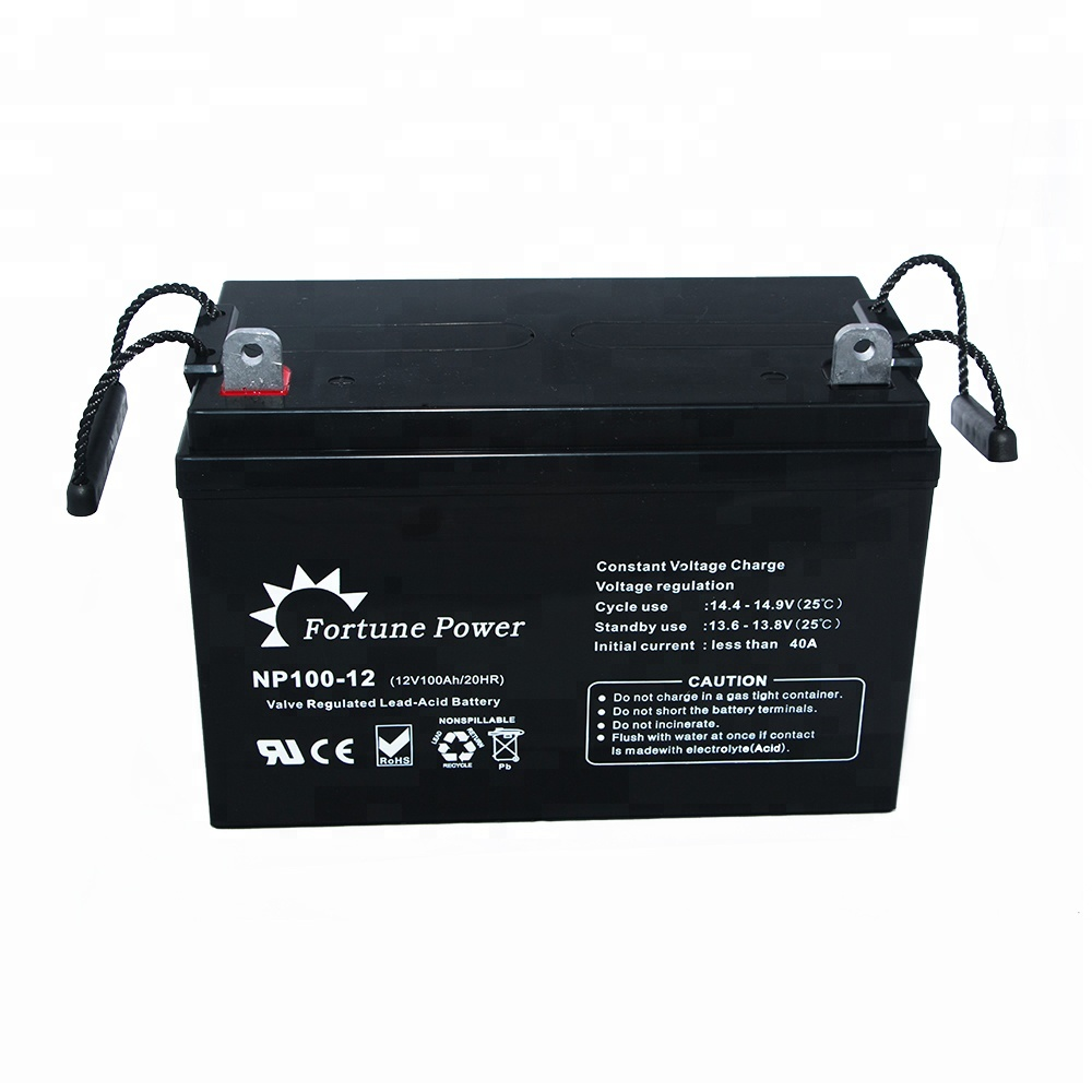 100ah/120ah/150ah/200ah Active Polymer 12V Gel Batteries for Solar Power System