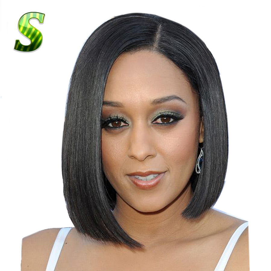 With short bob lace front wigs black woman you