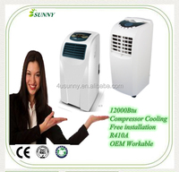 America Style 9000BTU Portable Air Conditioner