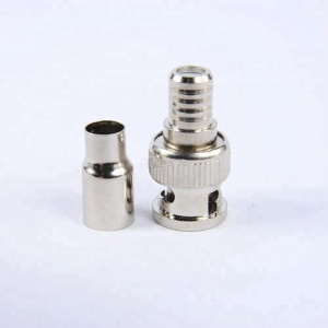BNC Crimp On Connector RG59 Coax Cable Adapter