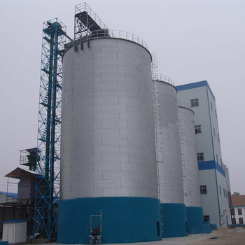 10000T Assembly Steel Silo For Resin PVC Pellets Storage