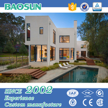 high quality fast build light steel frame prefabricated villa house