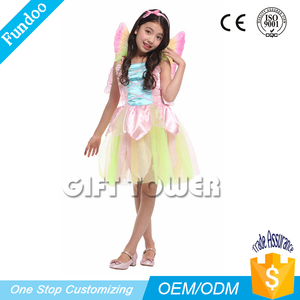 Christmas holiday kids fancy dress elf fairy costumes