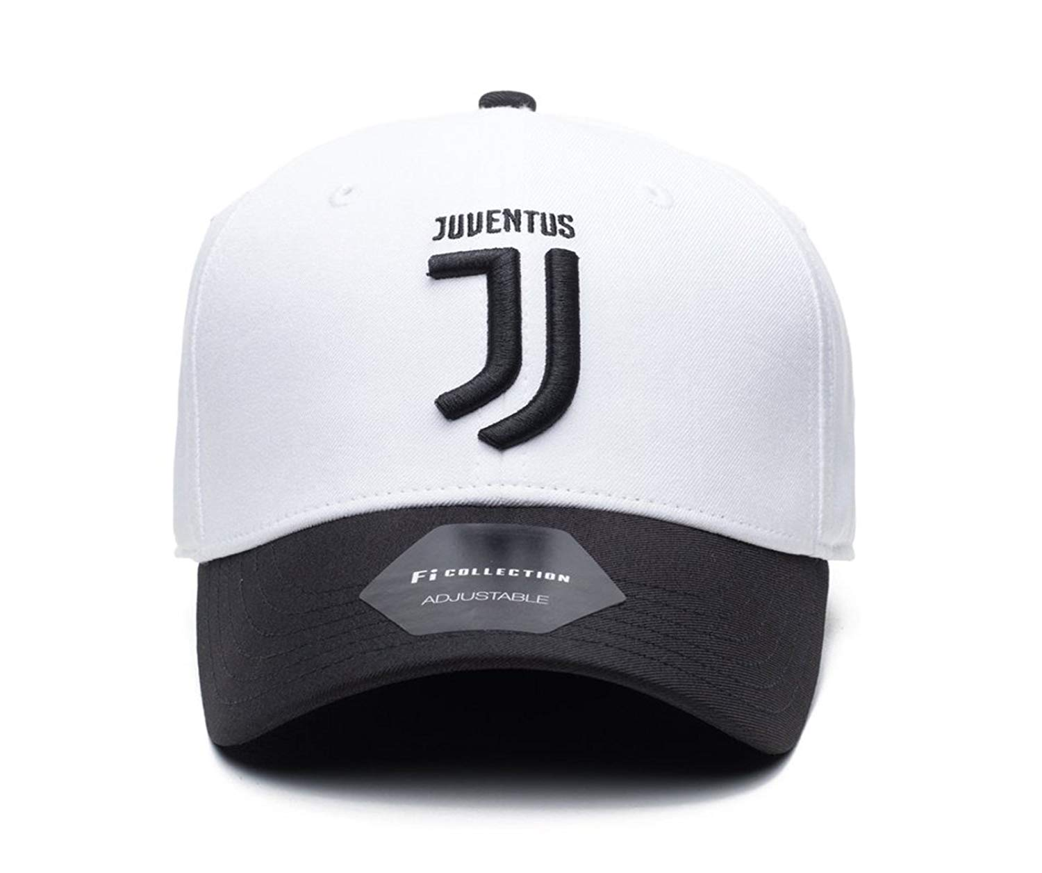 6efe40d857 Get Quotations · Fi Collection Juventus Officially Licensed Performance Dad  Hat White Black