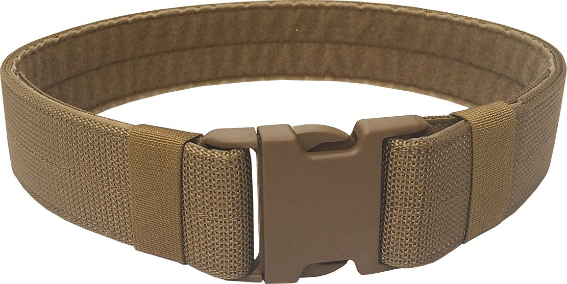 "Fire Force 2"" Military Patrol Belt with Military Side Release Buckle and Heavy Weight Scuba Nylon Webbing Made in USA"