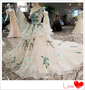 Lantong wedding dress