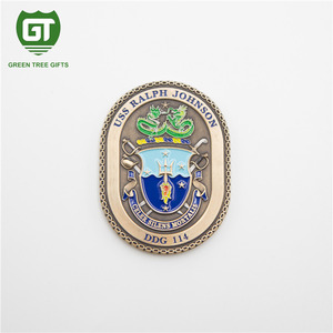 Professional customized service coin souvenir with 3d effect