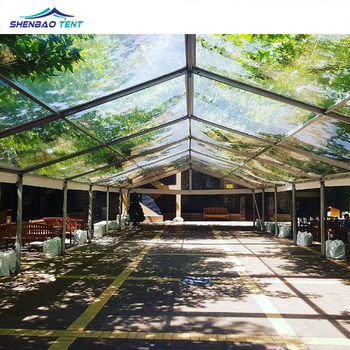 See Through Clear 200 Guests Wedding Ceremony Tents With