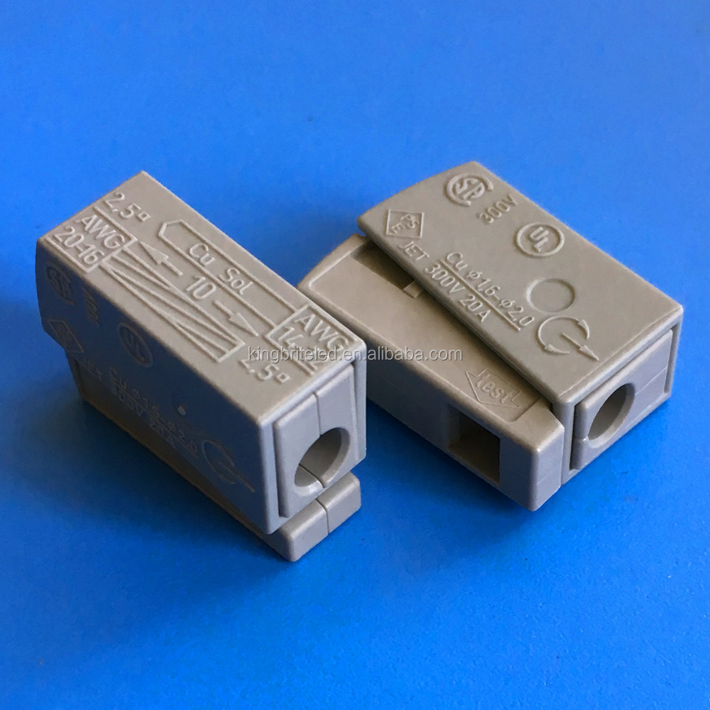 Equivalent Wago Connector Suppliers And 2 Wire 222 412 Compact Terminal Block Lever Cage Clamp Manufacturers At
