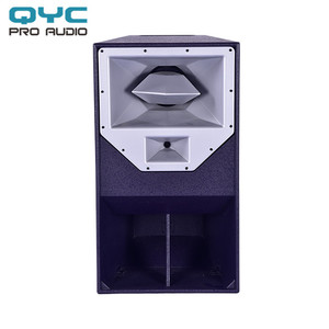 QYC 15 inch speaker box disco light sound system+dj equipment+concert speakers
