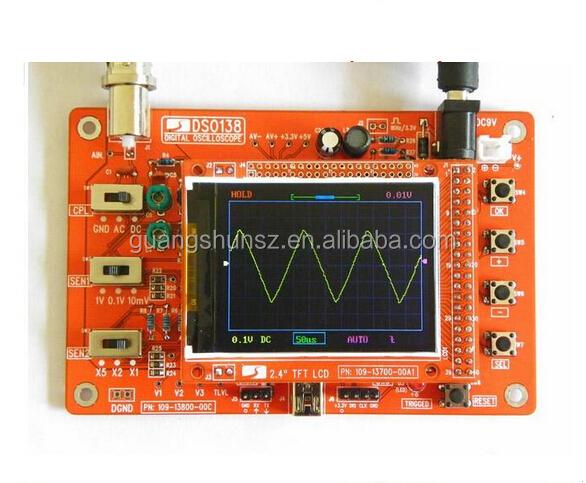 Dso138 Digital Oscilloscope Electronic Teaching Training Open Source Stm32  Oscilloscope Diy Kit - Buy Dso138 Digital Oscilloscope,Oscilloscope,Digital