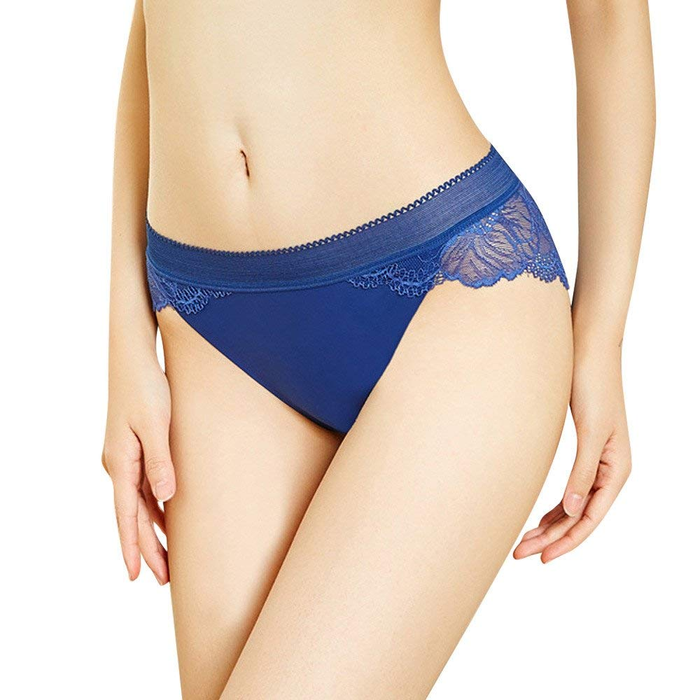 Farjing Thong for Womens,Clearance Sale Underwear Women Thong Bragas Sexy Panties Thong Lace Word Pants Ladies Briefs