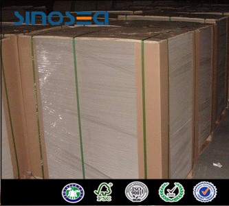 3.0mm 1000gsm Laminated paper grey chip board solid cardboard sheets